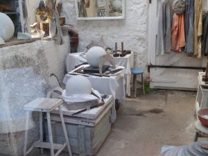 Barbara Hepworth Sculpture Studio in St Ives Cornwall