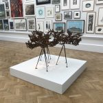 Sculpture by Conrad Shawcross at the RA Summer Exhibition