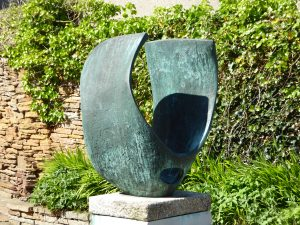 Spherical Form by Barbara Hepworth at the Pier Arts Centre Stromness Orkney