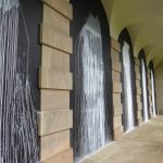 White Water Falls by Richard Long at Houghton Hall Norfolk
