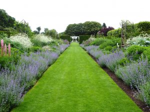 Walled garden at Houghton Hall Norfolk