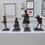 Mozart sculpture by James Butler at the Royal Academy Summer Exhbition