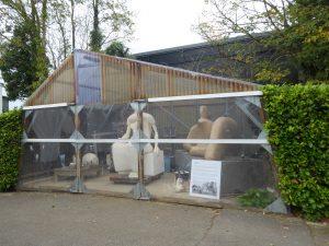 Henry Moore's Plastic Studio